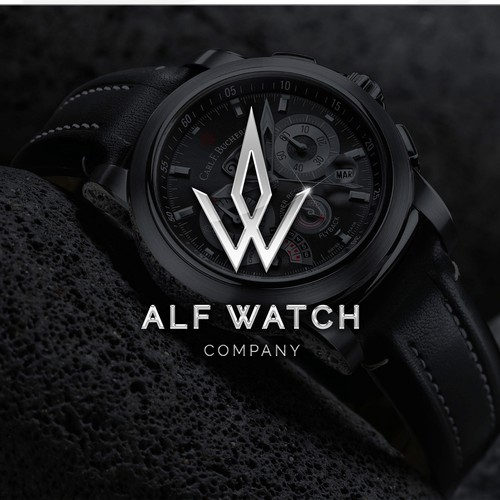 Logo for a Swedish watch company - Alf Watch Company