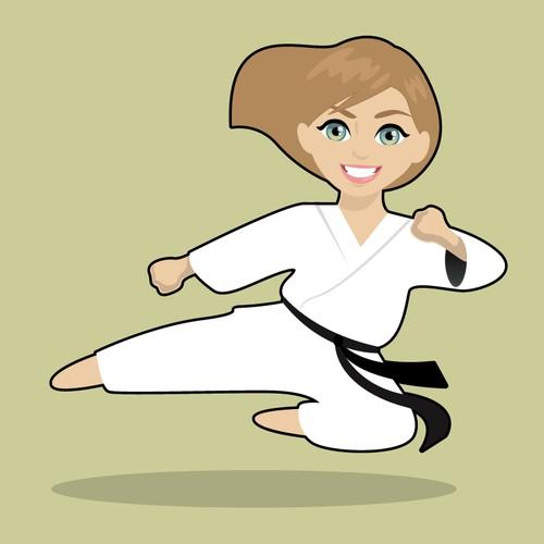 Mascot for dojo