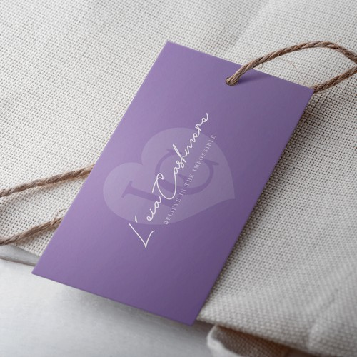 Logo design for L'eia Cashmere