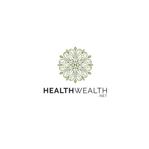 Logo concept for Healthwealth.net