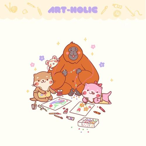 The Art Holic Family