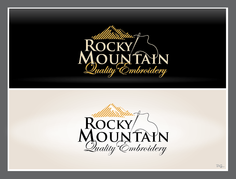 Help Rocky Mountain Quality Embroidery with a new logo