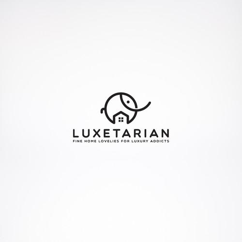 Logo concept for Luxetarian