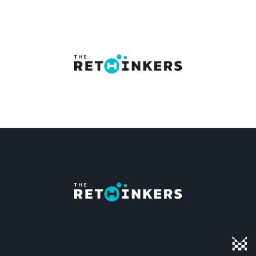 Winning design in The RETHINKERS logo design contest.