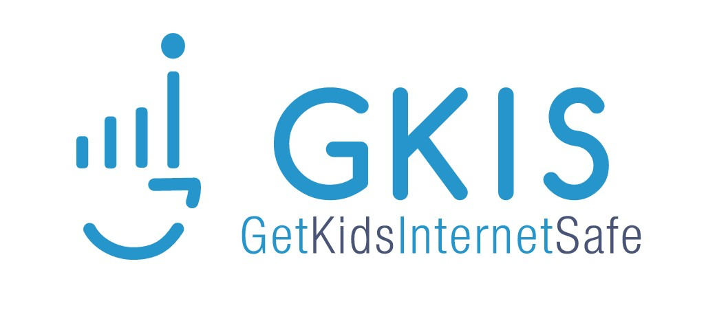 Need a logo that helps parents GetKidsInternetSafe (GKIS). Parent-child connection is more important than tech or safety