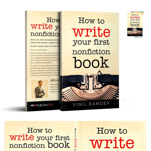 How to write your first nonfiction book