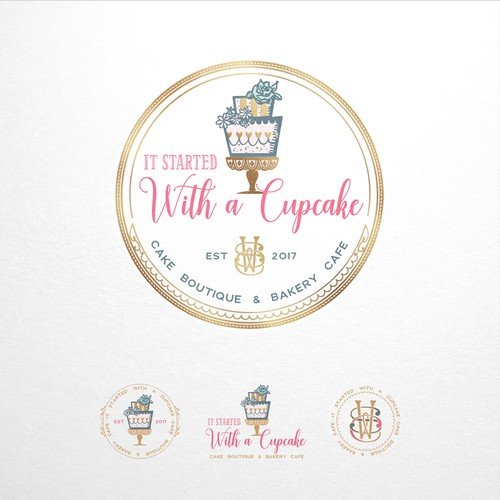 It started with a cupcake - logo design