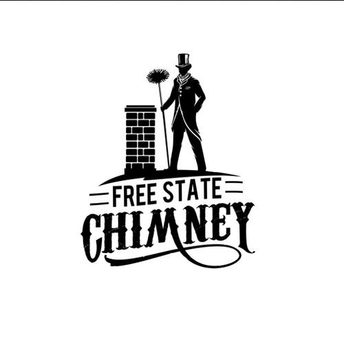 vintage chimney logo