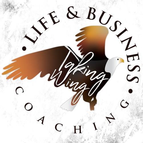 - TAKING WING - logo design