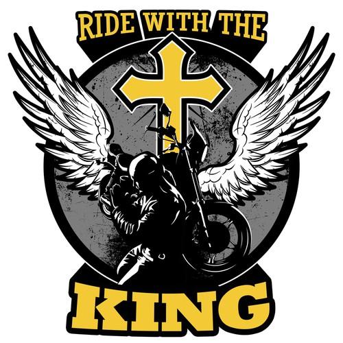 T-shirt for Christian Biker