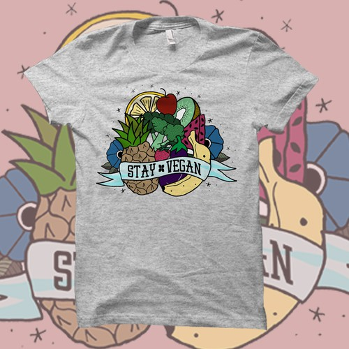 T-Shirt Design for Coco Greens