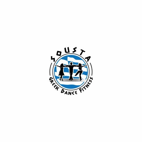 Logo for Greek dance