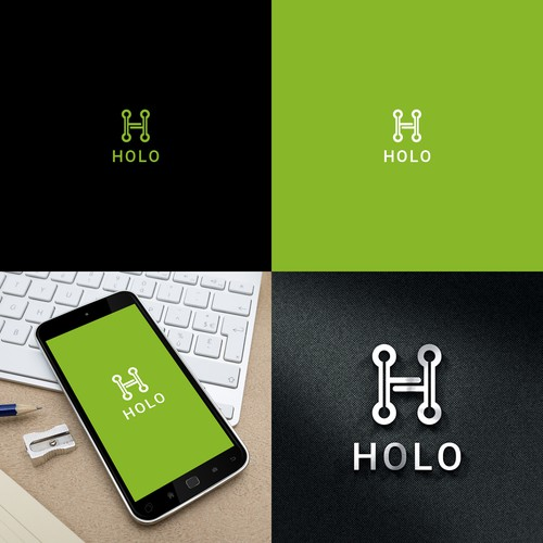 Design a powerful logo for an emerging tech company