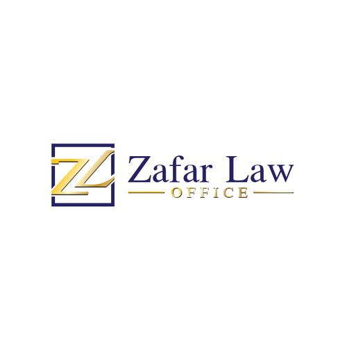 Logo concept for Zafar Law Office