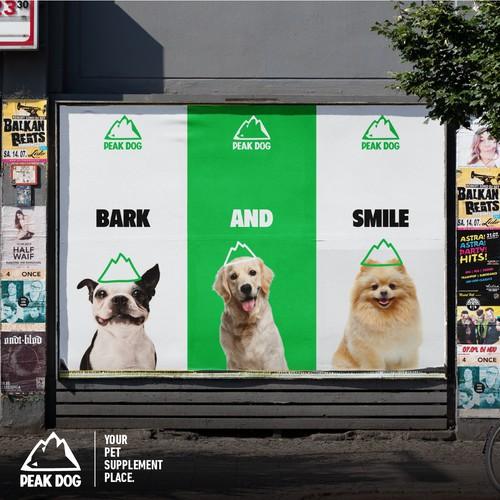 Peak Dog Branding