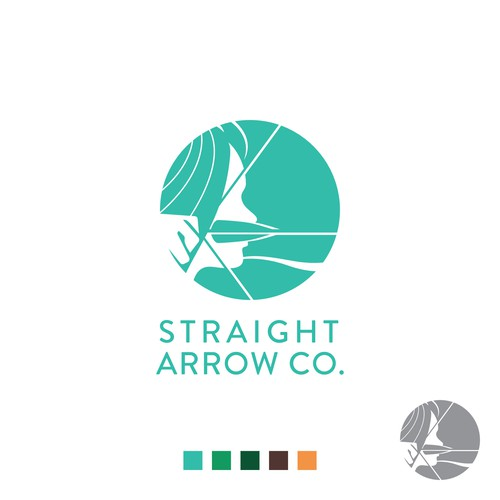 Strong logo that empower women