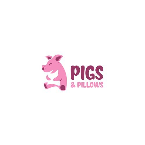 Pig + Pillow