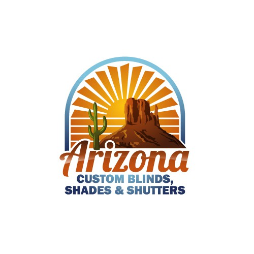 Modern Logo for Blinds and Shutter Company in Arizona