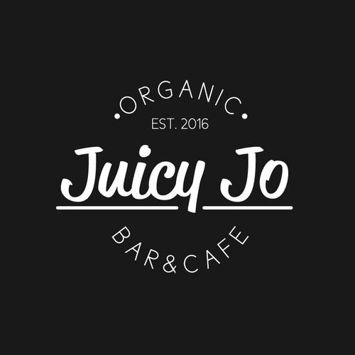 Organic Juice Bar Logo