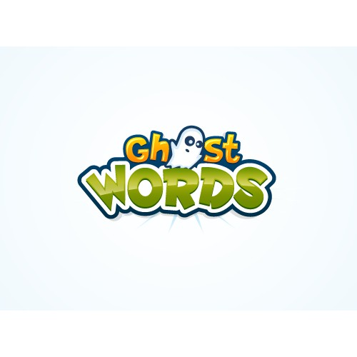 Ghost Words Logo Design