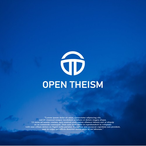 "New logo for Christian movement called ""Open Theism"""