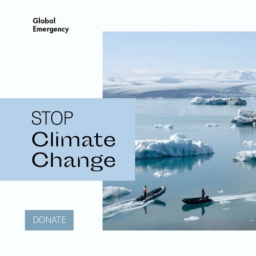 Facebook Ads Climate Action Campaign