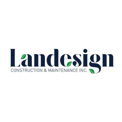 Landesign Construction & Maintenance Logo