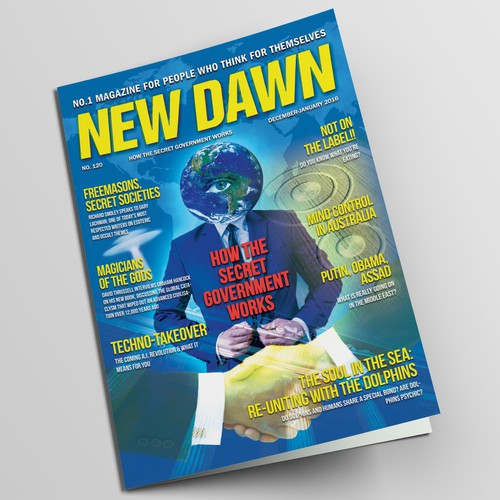 New Dawn Magazine Cover