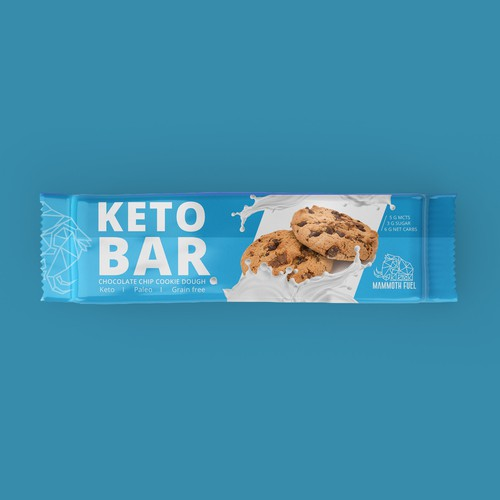 bold package design chocolate bar keto