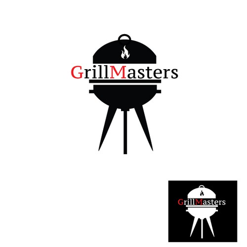 Looking for a modern logo for my company Grill Masters