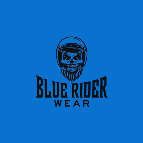 Bold logo for bikers clothing brand