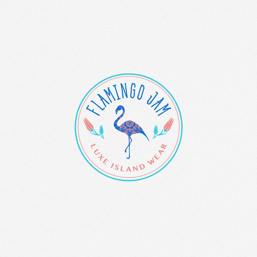 Logo for retailer of ethically made island fashion