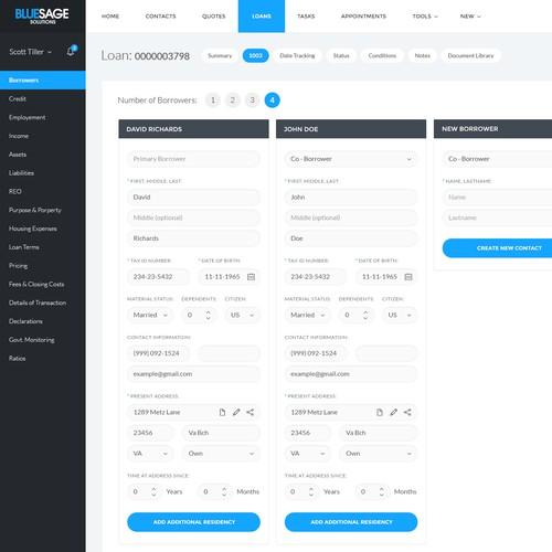 Dashboard BlueSage