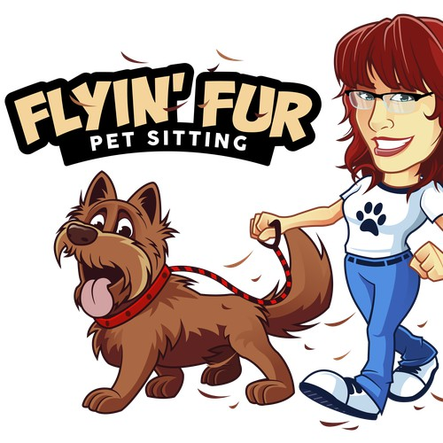 Flyin' Fur Logo