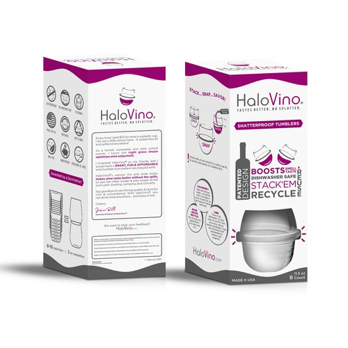 HaloVino Retail Box