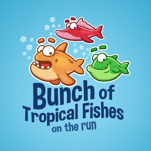 Logo Bunch of Tropical Fishes