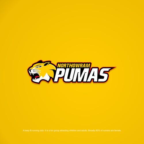 Northowram Pumas Logo