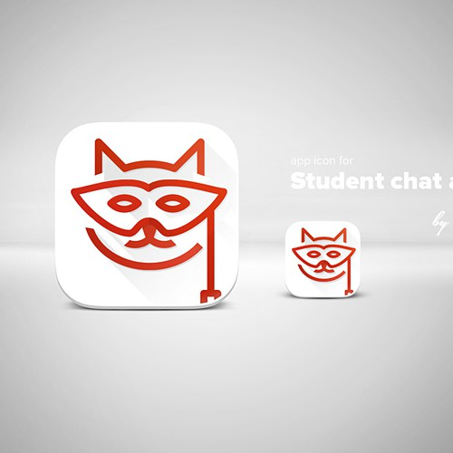 App Icon for Student chat app (similar to YikYak)