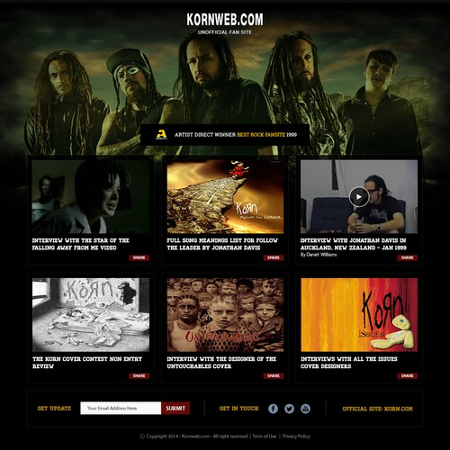 Are You Ready?!?! Help resurrect the web's #1 Korn fansite