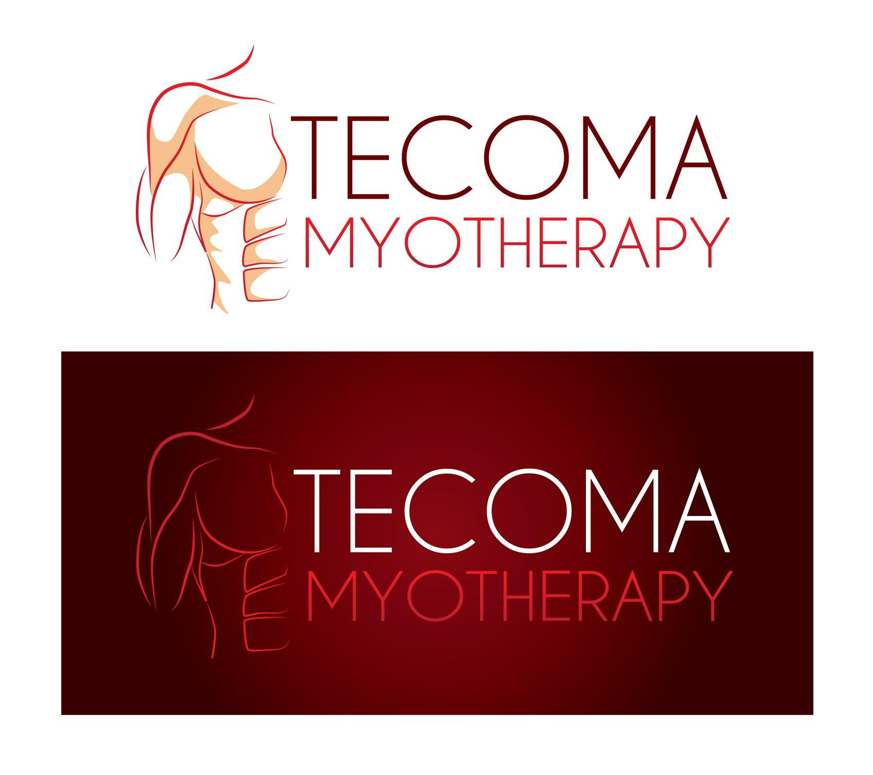 create a wining logo for Tecoma Myotherapy