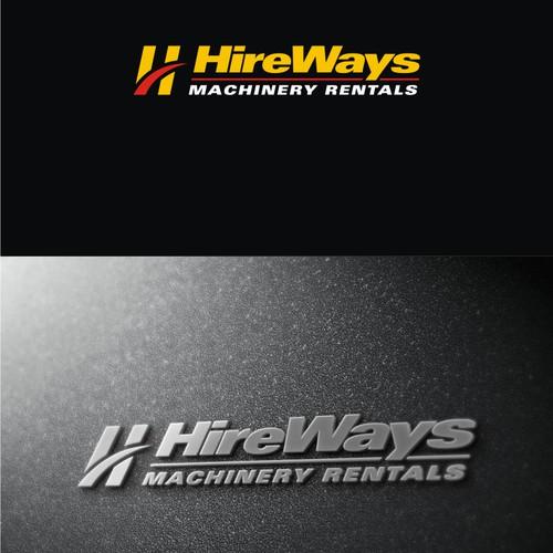 create a clean cut corporate logo and image for Hireways Ltd.