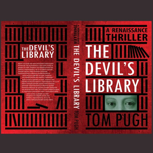 Book Cover ''the devil's library''