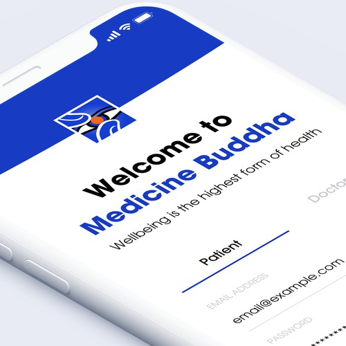 App Design for Medicine Buddha