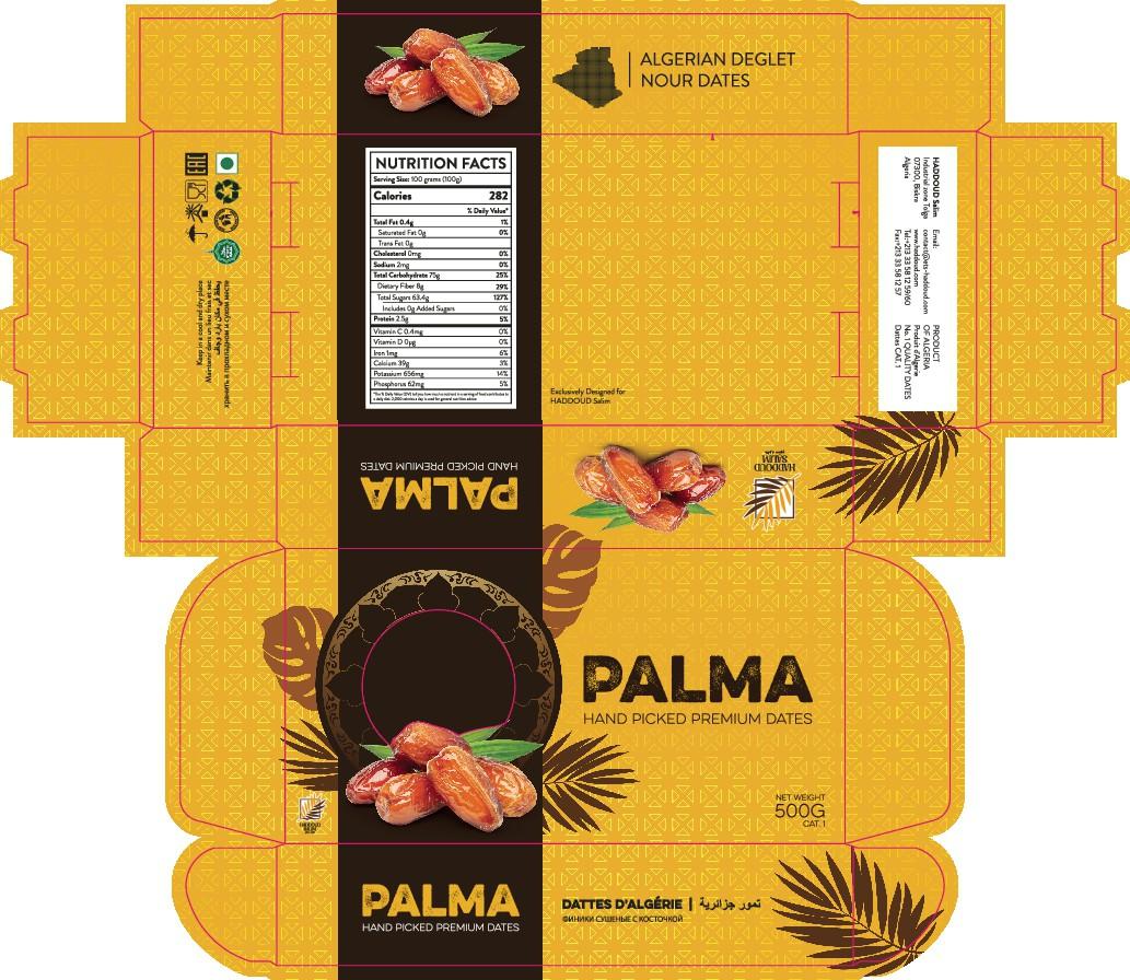 Dates Boxes Design Project 1  | 2 Boxes | Palma & Family Dates