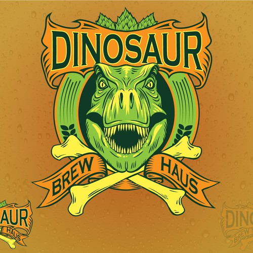 Logo for a brew house