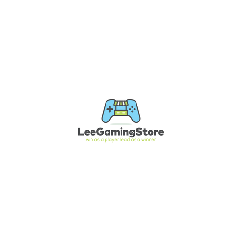 Logo concept for Lee Gaming Store