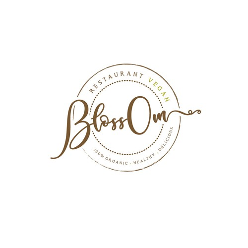 Logo design for vegan restaurant
