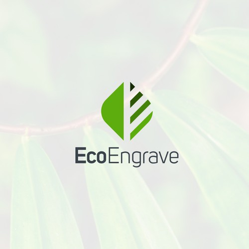 Logo design for EcoEngrave