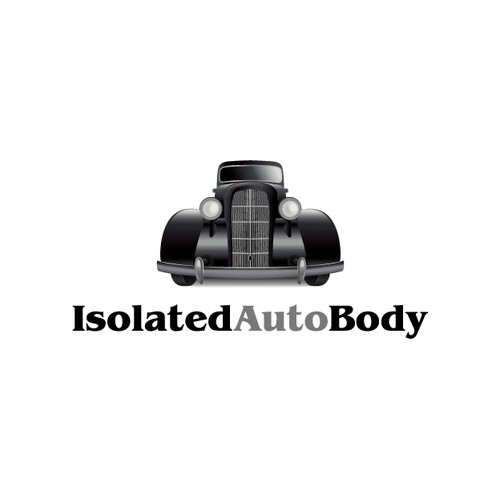 Isolated Auto Body