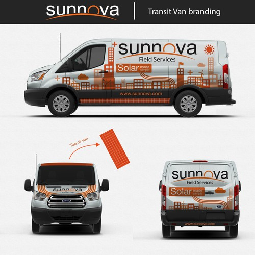 Van Wrap Solar energy